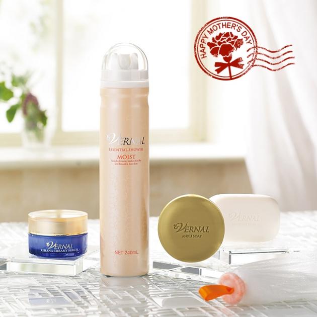4 step beauty set (ANKU (110)+SEIFE(110g)+SHOWER MOIST(240ml)+KIHANA CREAM(30ml) 1